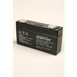 Аккумулятор свинцово-кислотный ROBITON VRLA6-1.3