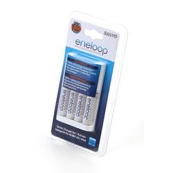 Зарядное устройство с аккумуляторами SANYO eneloop MQR06-E-4-3UTGB BL1