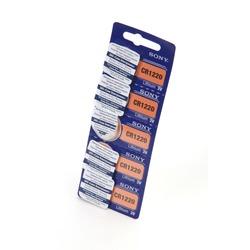 Батарейка дисковая литиевая SONY CR1220 BL5