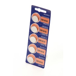 Батарейка дисковая литиевая SONY CR1616 BL5