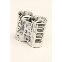 Батарейка бытовая стандартных типоразмеров SONY NEW ULTRA SUM2-NUP2A R14 SR2, в упак 24 шт