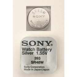Батарейка серебряно-цинковая часовая SONY SR754W 393
