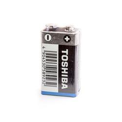 Батарейка бытовая стандартных типоразмеров TOSHIBA Alkaline 6LF22GC SP-1 6LF22 SR1, в упак 10 шт