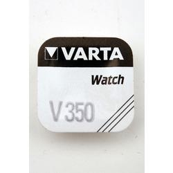 Батарейка серебряно-цинковая часовая VARTA 350