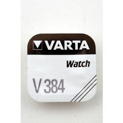 Батарейка серебряно-цинковая часовая VARTA 384