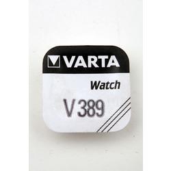Батарейка серебряно-цинковая часовая VARTA 389