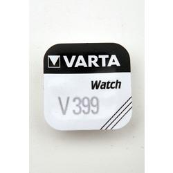 Батарейка серебряно-цинковая часовая VARTA 399
