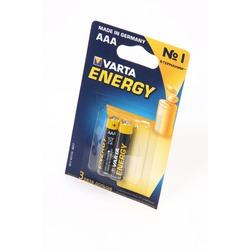 Батарейка бытовая стандартных типоразмеров VARTA ENERGY 4103 LR03 BL2