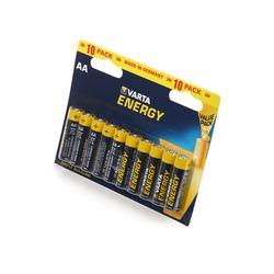 Батарейка бытовая стандартных типоразмеров VARTA ENERGY 4106 LR6 BL10