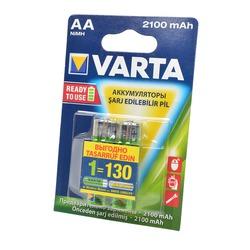 Аккумулятор предзаряженный VARTA LONGLIFE ACCU 56706 Ready 2 Use AA 2100mAh BL2