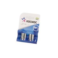 Батарейка бытовая стандартных типоразмеров КОСМОС LR03 BL4