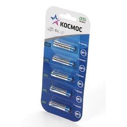 Батарейка бытовая стандартных типоразмеров КОСМОС LR03 BL5