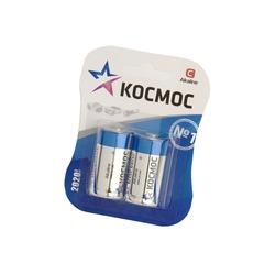Батарейка бытовая стандартных типоразмеров КОСМОС LR14 BL2