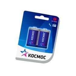 Батарейка бытовая стандартных типоразмеров КОСМОС R14 BL2