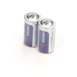 Батарейка бытовая стандартных типоразмеров КОСМОС R14 SR2, в упак 24 шт