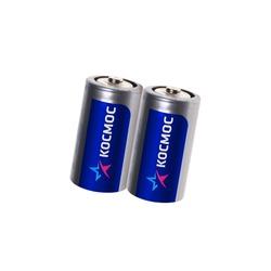Батарейка бытовая стандартных типоразмеров КОСМОС R20 SR2, в упак 24 шт