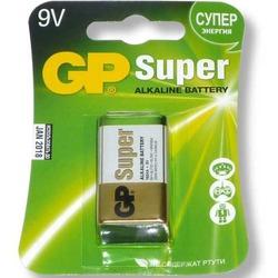 Батарейка бытовая стандартных типоразмеров GP 1604A-5CR1