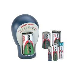 Тестер ANSMANN Energy Check 4000042 BL1 Тестер для эл. питания