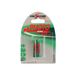 Аккумулятор цилиндрический ANSMANN 900 AAA