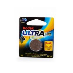 Батарейка дисковая литиевая Kodak ULTRA CR2016 BL1
