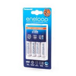 Зарядное устройство Panasonic eneloop K-KJ16MCCE40E Smart&Quick Charger + 4AA1900mAh BL1