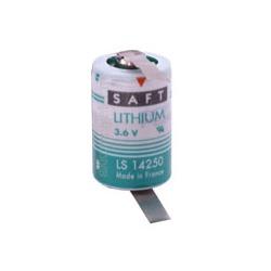 Батарейка литиевый спецэлемент SAFT LS 14250 CNR 1/2AA с лепестковыми выводами