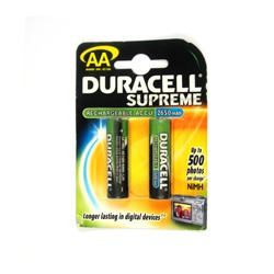 Аккумулятор DURACELL HR06(2650мАн) BL2 MH2650AA