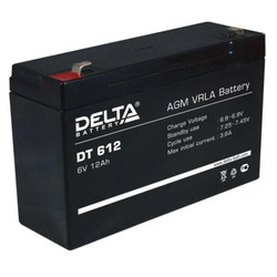 Аккумулятор свинцово-кислотный DELTA DT 612