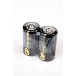 Батарейка бытовая стандартных типоразмеров GP Supercell 14S/R14 SR2, в упак 24 шт