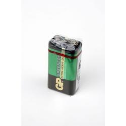 Батарейка бытовая стандартных типоразмеров GP Greencell 1604G/6F22 SR1, в упак 10 шт