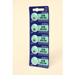 Батарейка SONY SR521SW 379 BL5 S521L-SG0