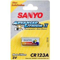 Батарейка SANYO CR123A 167301822 BL1 123A CR123A CR123