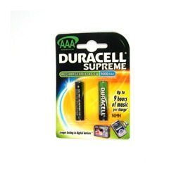 Аккумулятор цилиндрический DURACELL AAA(HR03) 1000mAh BL2MH1000AAA