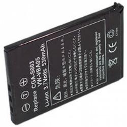 Аккумулятор для фото и видеокамер Energizer CGAS003 (Panasonic CGA-S003E) цифр.ф/ап P/Li530/3.7V