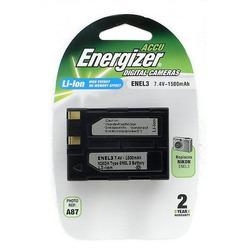 Аккумулятор для фото и видеокамер Energizer ENEL3 (NIKON EN-EL3) цифр.ф/ап BL1 N/Li1500/7.4V