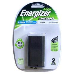 Аккумулятор для фото и видеокамер Energizer DVBP1 (Panasonic VW-VBD1E) в/камеры BL1 P/Li2000/7.2V