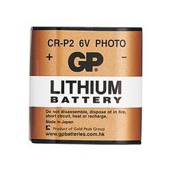 Батарейка бытовая стандартных типоразмеров GP CR-P2